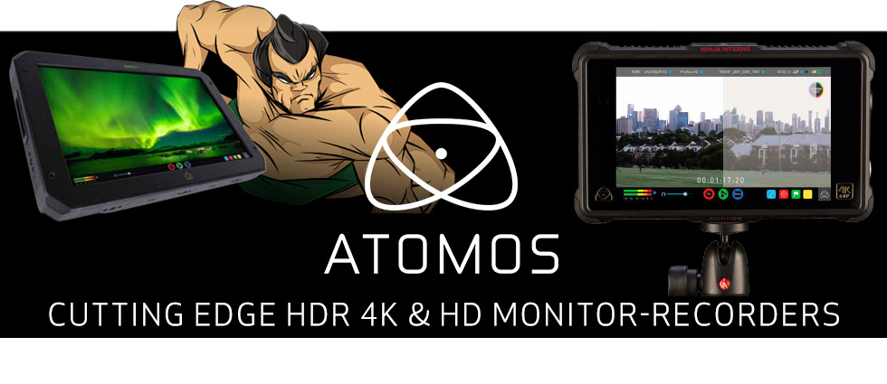 Atomos :: Cutting Edge HDR 4K & HD Monitor Recorders