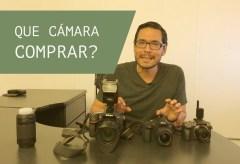 ¿Qué cámara comprar para fotografía?