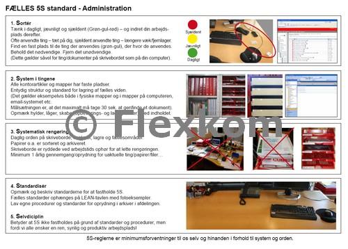 5S-værktøj I Lean Administration – Synlig Og Struktureret Orden I Administrative Processer