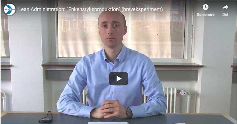 Multitasking Eller Fokus På én Opgave – Hvad Er Hurtigst? Se Video! Lean Administration.