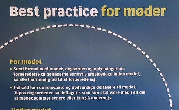 """Bedre Og Mere Effektive Møder Med To """"enkle"""" Regler"""