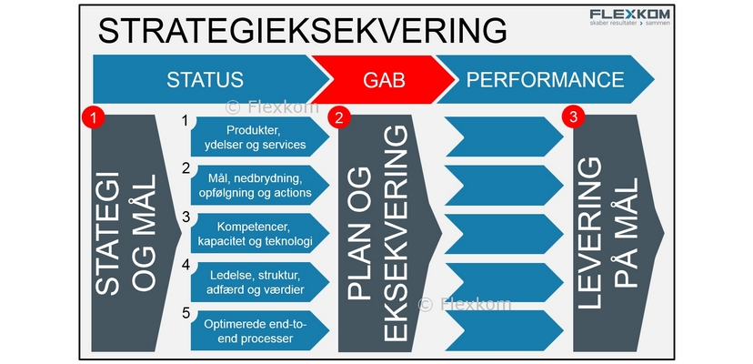 Model For Strategieksekvering – De 5 Leverancer