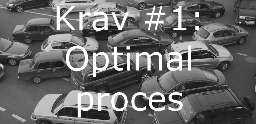 Krav #1: Optimal Proces – Hvad Er En Optimal Proces?