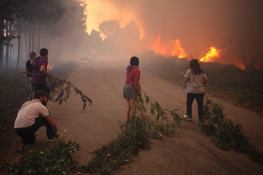 incendios en Galicia Valladares arde galicia