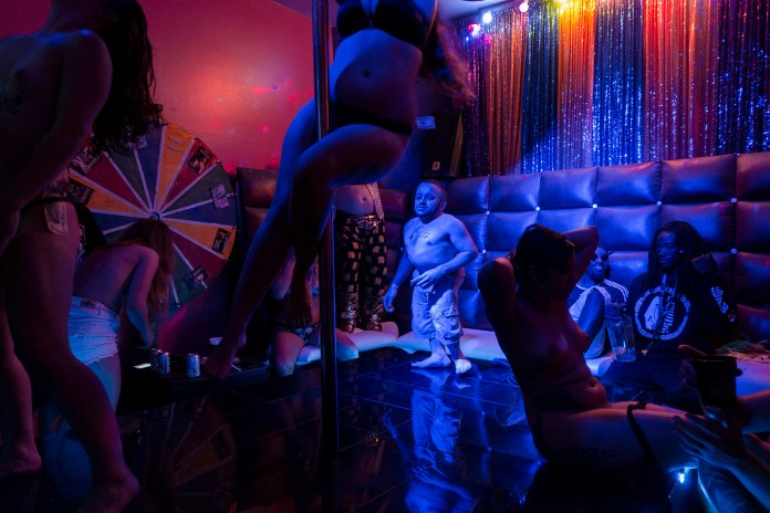 a strip club in Robert LeBlanc A New America