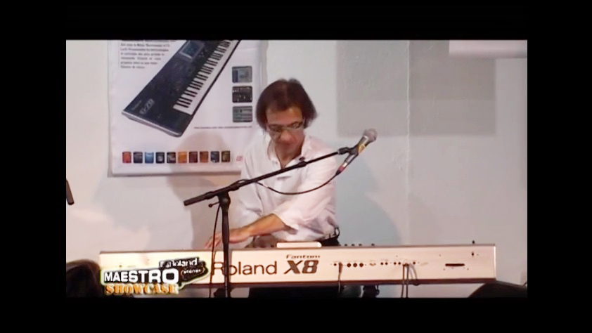 Francis Rimbert Live Showcase Roland