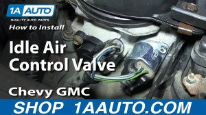 How to Replace Idle Air Control Valve 9600 Chevy Tahoe | 1A Auto