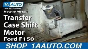 How To Replace 4x4 Transfer Case Shift Motor 0408 Ford F150 | 1A Auto