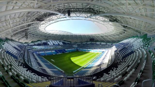"""بالفيديو.. ملاعب مونديال روسيا بتقنية 360 درجة (ملعب """"سمارا أرينا)"""
