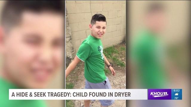 وفاة طفل اختبأ في آلة تجفيف الثياب خلال لعبه الغميضة