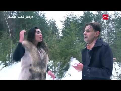 """شاهد .. ردة فعل الفنانة المصرية """"ياسمين صبري"""" أول ضحايا رامز جلال!"""