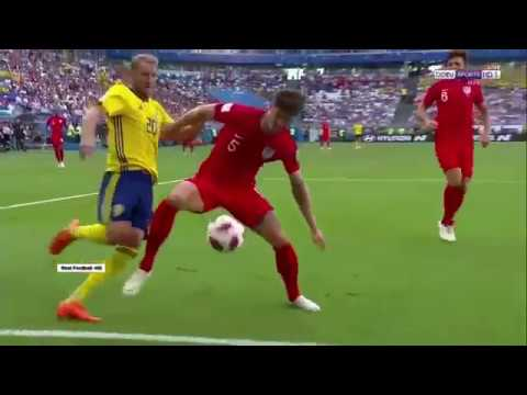 بالفيديو – ملخص مباراة إنجلترا والسويد في كأس العالم