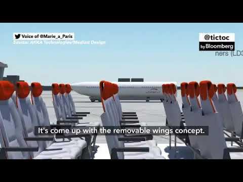 بالفيديو.. شركة فرنسية تقدم قطارًا بإمكانه الطيران