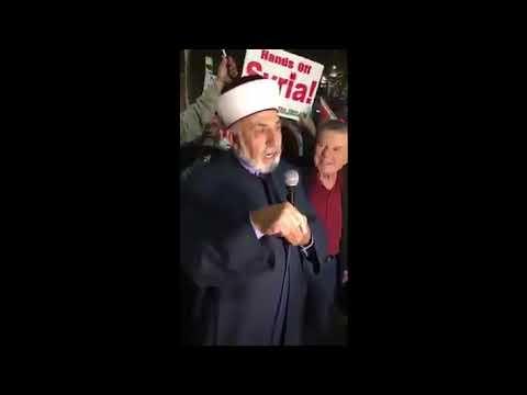 """داعية سوري : الملائكة سيدها جبرائيل و بشار الأسد هو """"سيد بني البشر""""!"""