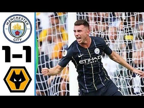 بالفيديو… أهداف مباراة مانشستر سيتي وولفرهامبتون في الدوري الإنجليزي (1-1)