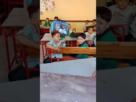 تلميذ لمدرسته: «عاوز أنام ربع ساعة يا حاجة»