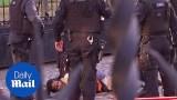 """الشرطة البريطانية تصعق رجل أفريقي اقتحم البرلمان وصاح """"قادمون لكم""""!"""
