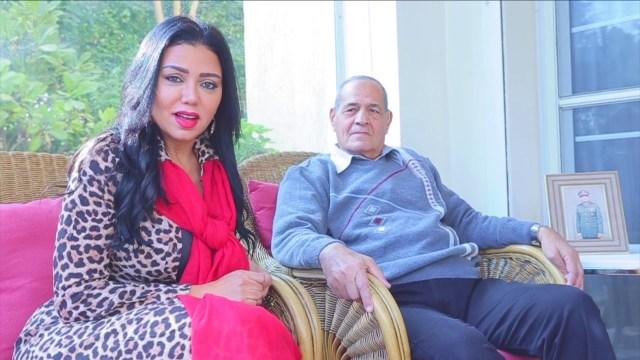 أول ظهور لوالد رانيا يوسف: لم تتعبني منذ ولادتها