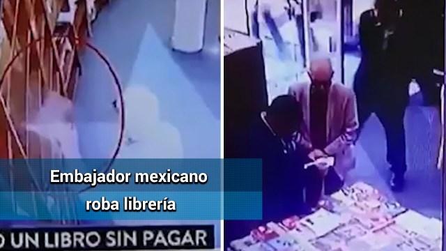 سفير في موقف محرج بعد سرقة كتاب بـ10 دولارات