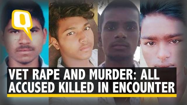 اغتصبوا طبيبة بالهند.. شاهد لماذا قتلتهم الشرطة في موقع الجريمة؟