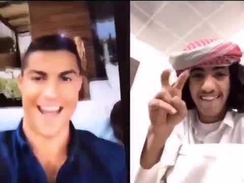 """مقلب طريف في شاب سعودي بمكالمة فيديو لـ """"كريستيانو رونالدو"""" .. شاهد المفاجأة !"""