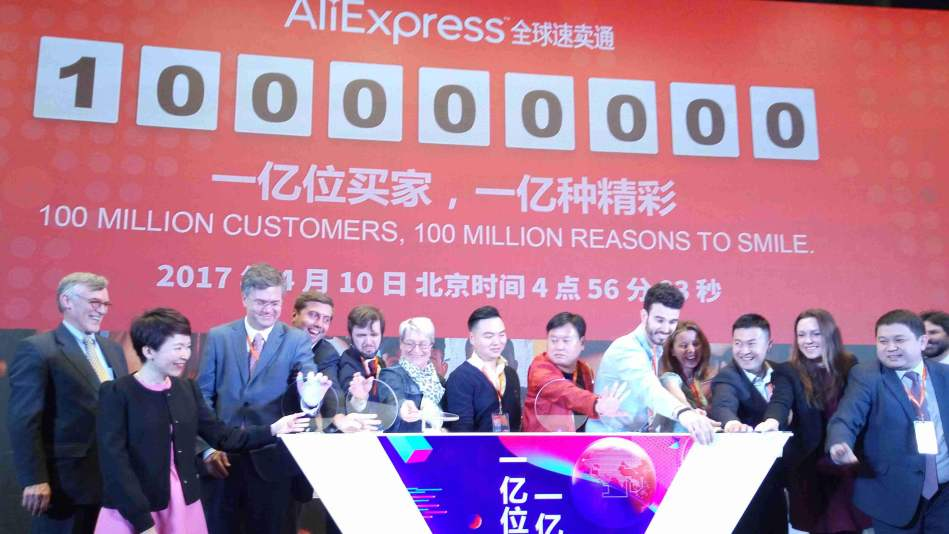 Image result for Alibaba's AliExpress reaches 100 million overseas users