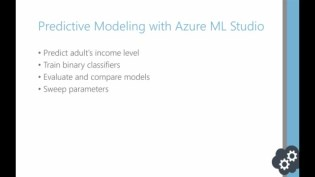 Predictive Modeling with Azure ML studio