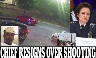 Atlanta Police Chief Resigns After Protests Break Out Over White Cops who Shot Dead 27-Year-Old Black Man Rayshard Brooks Outside Wendy's Drive-Thru as New Surveillance Video 'Shows him Pointing a Stolen Taser at the Officers as he Fled'