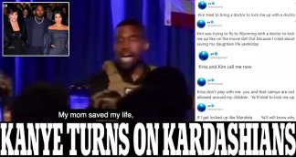 """Kanye West Claims Wife Kim Kardashian was Flying Out 'with a Doctor to Lock Me Up' After his Public Near-Abortion Revelation, Slams Momager Kris Jenner and Then says Movie 'Get Out' is """"About Me"""" During Twitter Rant – as Fears for Rapper's Mental Health Grow"""