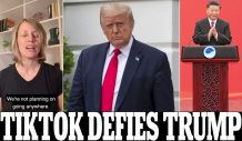 'We're Not Planning on Going Anywhere': TikTok's US General Manager Tells Trump he will be Killing '10,000 American Jobs' if he Bans the Controversial Chinese App and Asks Its Millions of Users to 'Stand with TikTok'