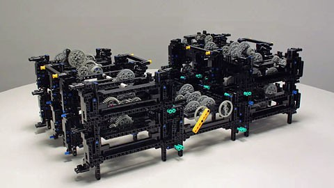 Antikythera Mechanismus In Lego Nachgebaut VideoGolemde