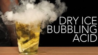 Dry Ice Bubbling Acid – Sick Science! #006