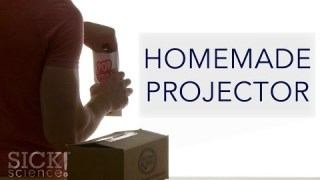 Homemade Projector – Sick Science! #201