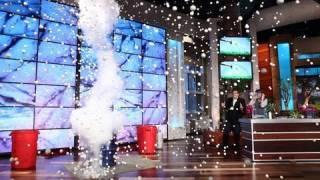 Steve Spangler on The Ellen Show April 2010