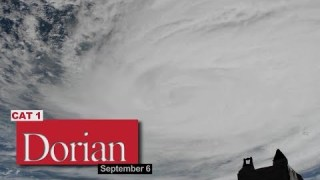Views of Hurricane Dorian from the International Space Station – September 6, 2019