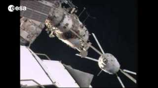 Docking of ATV Georges Lema?tre to ISS