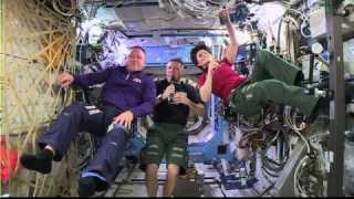 Space Station Crew Discusses Life in Space With Students and NASA Administrator Charles Bolden