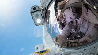 NASA Astronauts Spacewalk Outside the International Space Station on Oct. 11, 2019