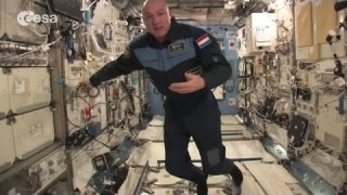 ESA astronaut Andr? Kuipers' tour of the International Space Station