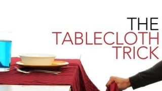 The Tablecloth Trick – Sick Science! #010