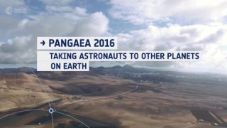 Pangaea 2016: Taking astronauts to other planets ? on Earth