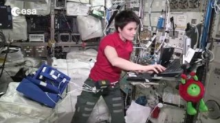 Samantha?s cool Space Station science