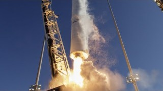 Northrop Grumman Cygnus Cargo Launch to the Space Station