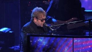 Sir Elton John greets the 'Rocket Men'