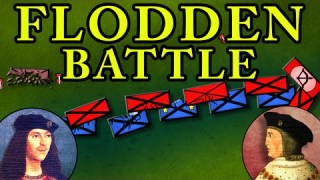 The Battle of Flodden 1513 AD