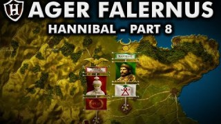 Battle of Ager Falernus ⚔️ Hannibal (Part 8) ⚔️ Second Punic War