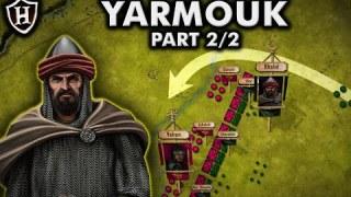 Battle of Yarmouk, 636 ⚔️ Byzantine – Rashidun Clash at Yarmouk
