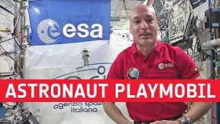 Playmobil go above and beyond with ESA's Luca Parmitano