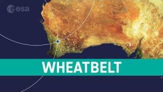 Earth from Space: Wheatbelt, Western Australia