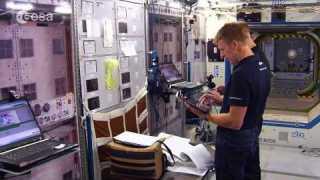 ESA astronauts in Houston
